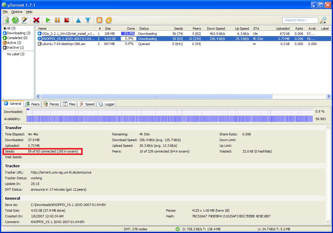 как открыть файлы из торента