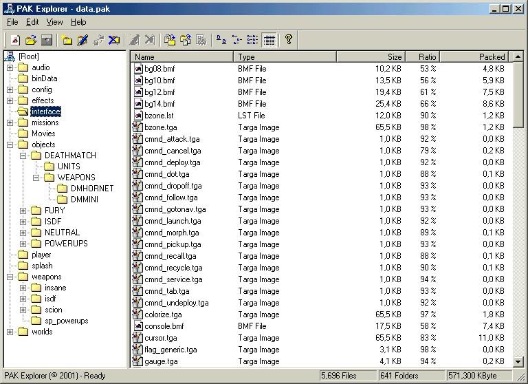 как работать с файломи pak