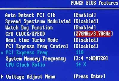 Параметры базовой частоты в некоторых случаях могут быть заблокированы