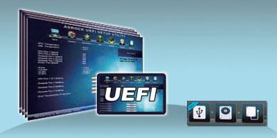 Главное достоинство UEFI - большее удобство