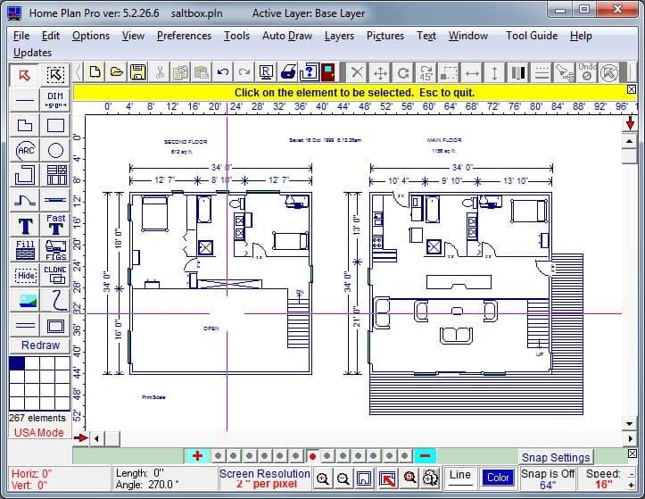 Скриншот для Home Plan Pro