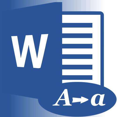 Как изменить регистр в MS Word