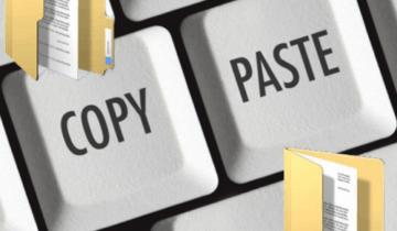 как копировать и вставлять с помощью клавиатуры