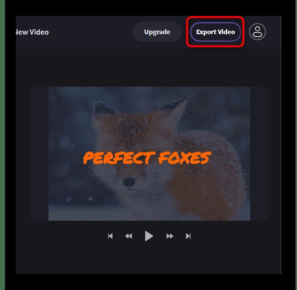 Экспорт видео в Clipchamp