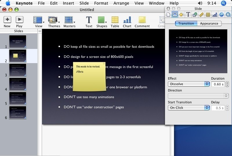 Файлы KEY в Mac OS используются для хранения презентаций, созданных программой Keynote - аналогом MS PowerPoint