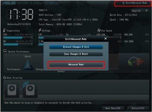 Непосредственно для обновления БИОС могут использоваться разные программы в зависимости от производителя - для Asus это ASUS EZ Flash 2 Utility