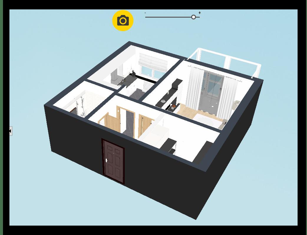 3D среда в Планоплан