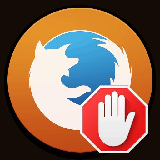 adblock mozilla firefox logo