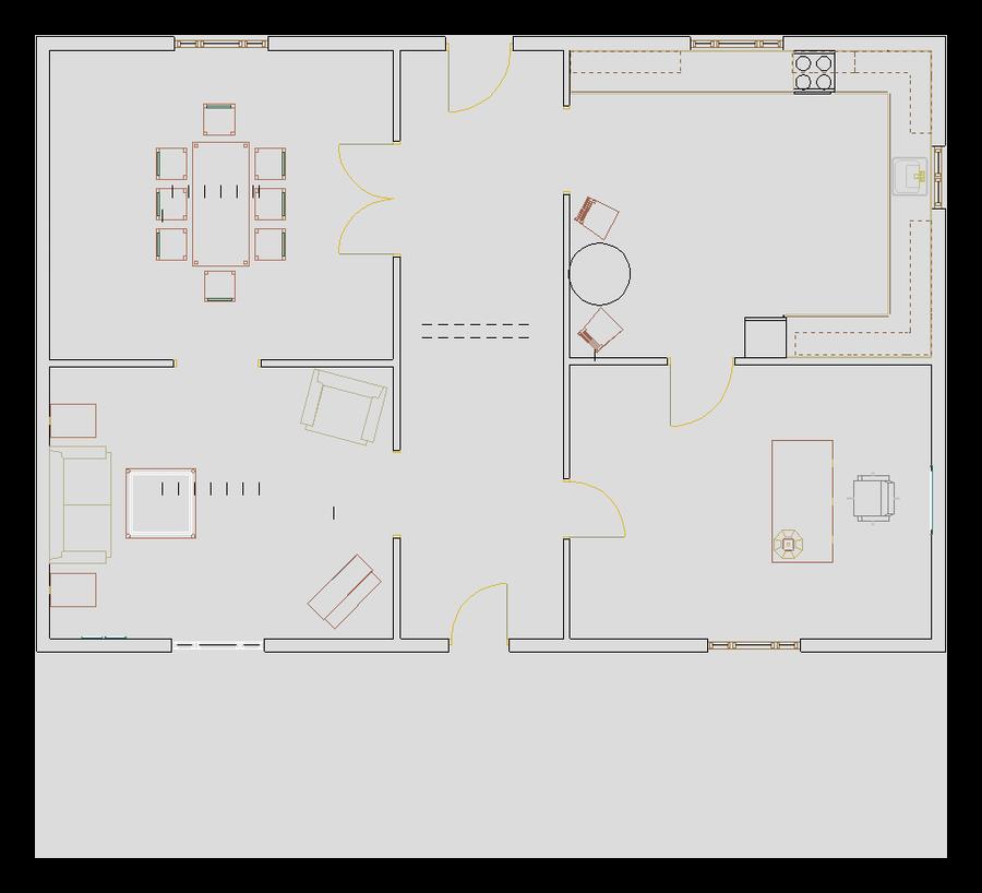 Открытый пример floorplan 3d