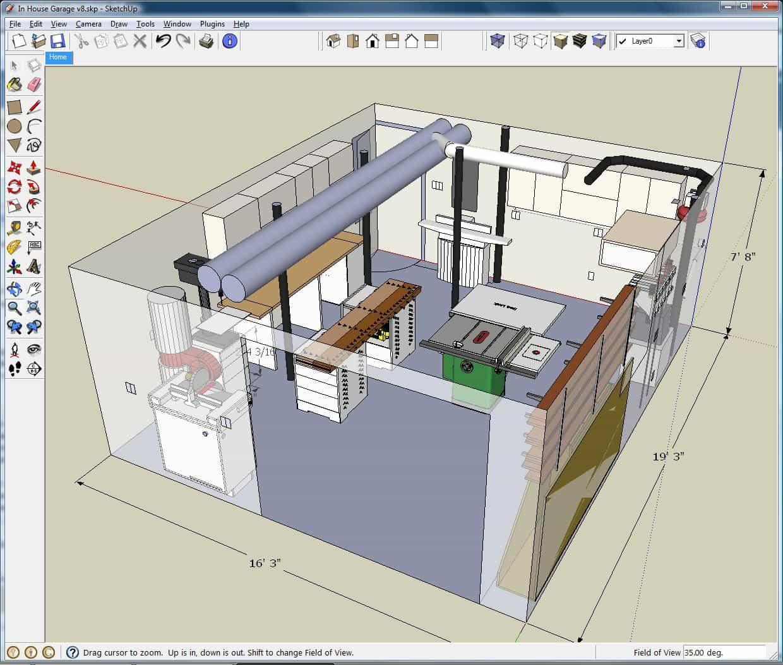 Скриншот для SketchUp
