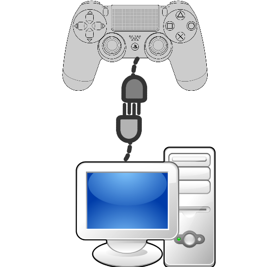 Как подключить Dualshock 4 к PC