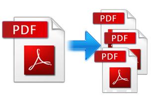 Разделить файл PDF онлайн